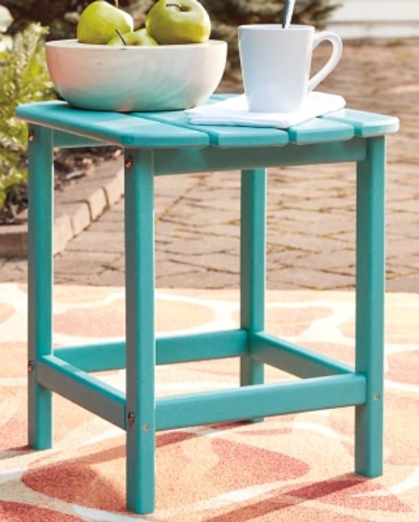 Sundown Treasure End Table   Turquoise   P012-703
