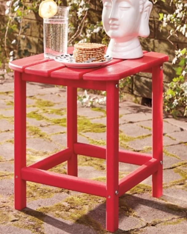 Sundown Treasure End Table | Red | P013-703