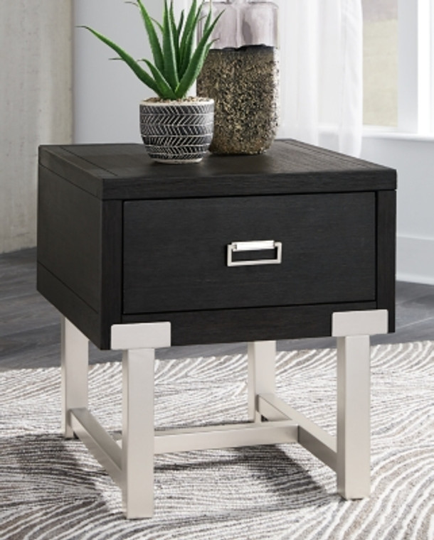 Chisago End Table | Black | T930-3