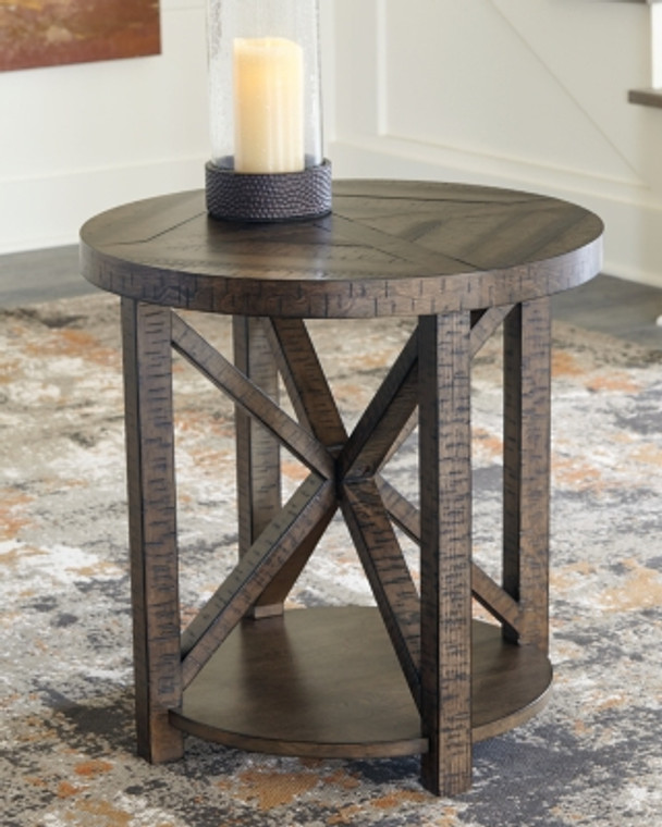 Jessoli End Table | Brown | T234-6