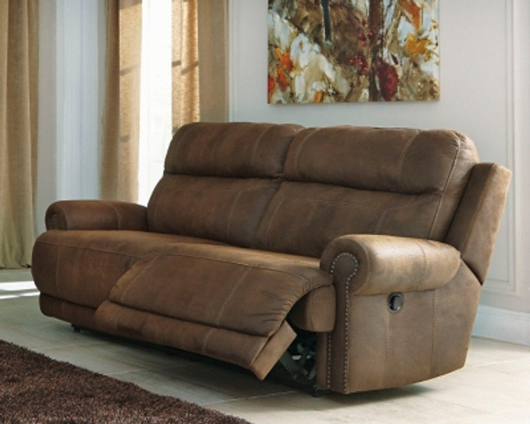 Austere Reclining Sofa   Brown   3840081