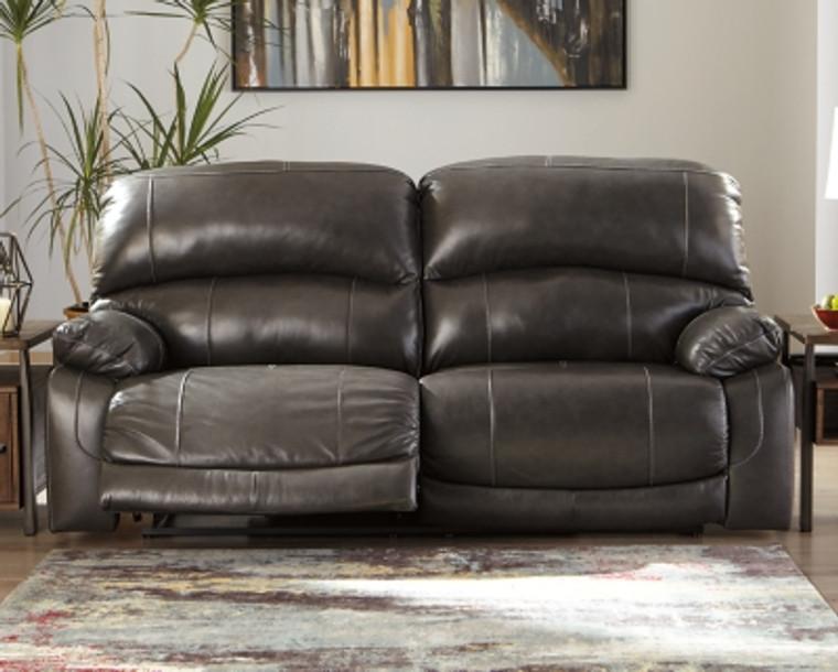 Hallstrung Power Reclining Sofa | Gray | U5240347