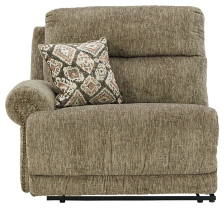 Lubec Left-Arm Facing Power Recliner   Taupe   8540758
