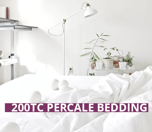 200TC Percale Bedding