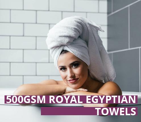 500GSM Royal Egyptian Towels