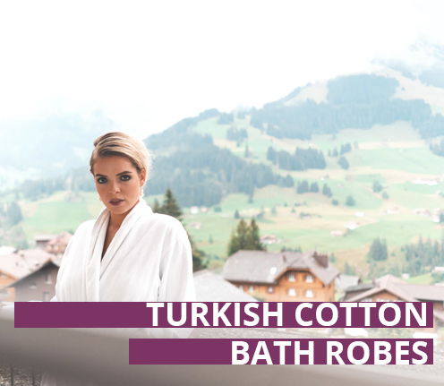 Turkish Cotton Bath Robes