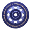 "5"" Double Row Cup Wheel"