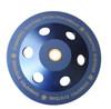"7"" 12 seg 1/4 Round PCD Cup Wheel"