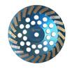 "7"" 24 seg Turbo Cup Wheel, Soft Concrete"