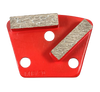9mm hole- iron horse compatible trapezoid diamond- red