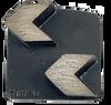 Husqvarna compatible 2 arrow diamond- gray