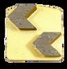Husqvarna compatible 2 arrow diamond- gold