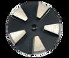 STI compatible 5 seg round diamond- black