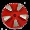 STI compatible 5 seg round diamond- red