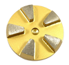 STI compatible 5 seg round diamond- gold