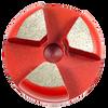 Scanmaskin compatible 3 seg round- red