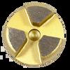 Scanmaskin compatible 3 seg round- gold
