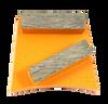 Fast change compatible 2 bar diamond in orange