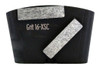 HTC compatible 2 bar wing back 16 grit for extra soft concrete