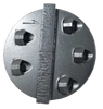 terrco compatible PCD diamond-  gray