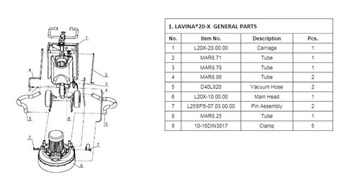 Pin Assembly L20-X