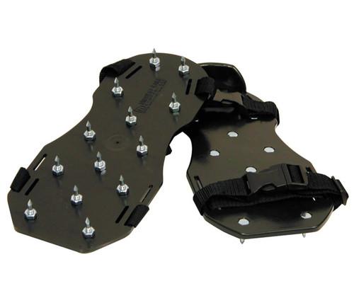 Polypropylene Black Spiked Shoes