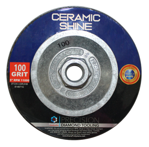 "5"" Ceramic Shine Cup Wheel"