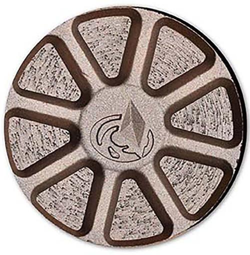 SA Superthick Discs on QC Trapezoid Pad