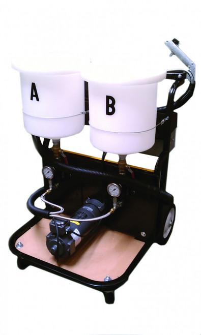 Electric Dual Polyurea Gear Pump