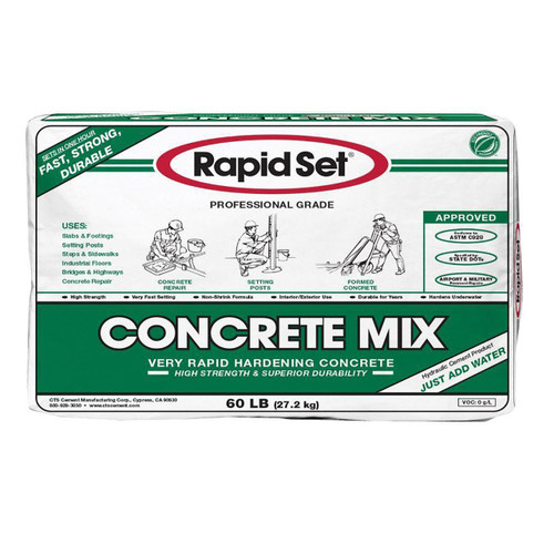 Rapid Set Concrete Mix