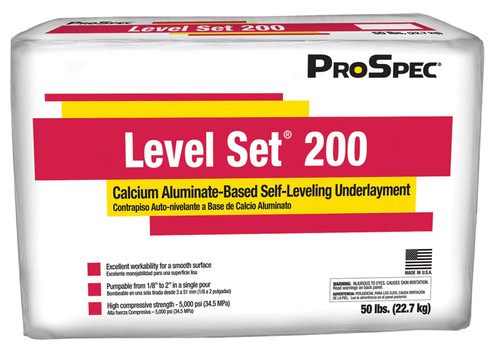Level Set Underlayment
