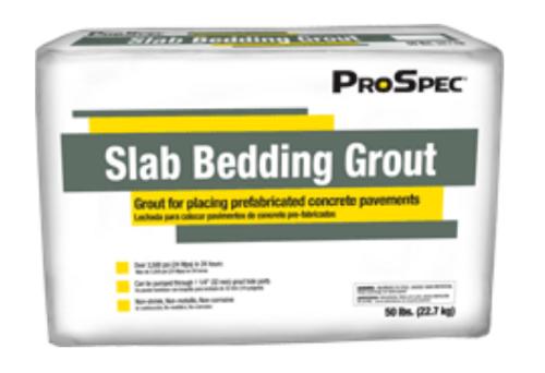 Slab Bedding Grout