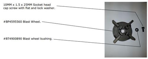 Blastwheel Bushing BP-9-SP