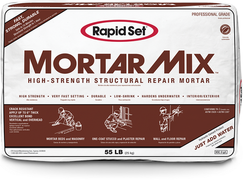 Rapid Set Mortar Mix