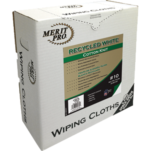 Dynamic Recycled White Wiping Cloths