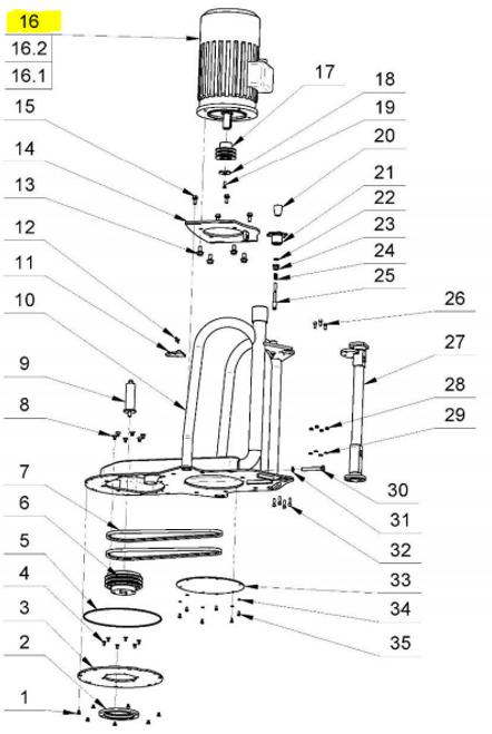 L13E Electro Motor