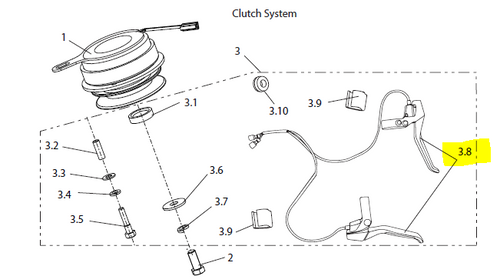 Clutch Handle Unit Set