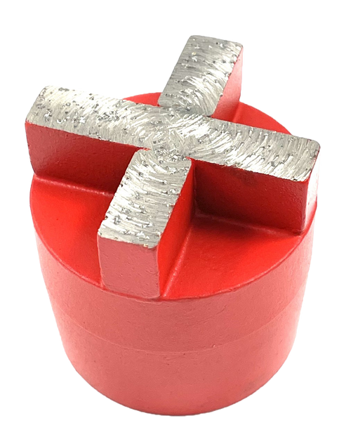Plug Style Diamond with X Segment