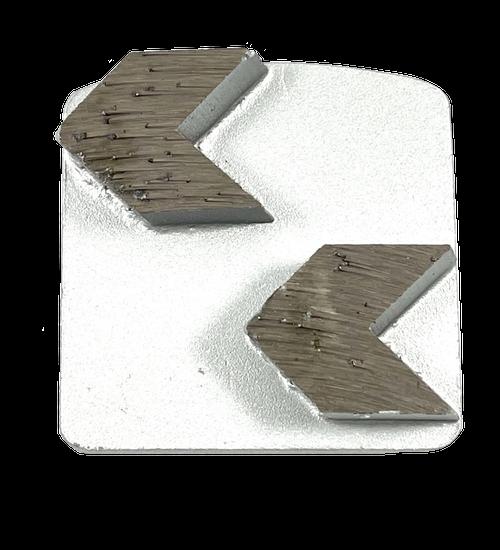 Husqvarna compatible 2 arrow diamond- white