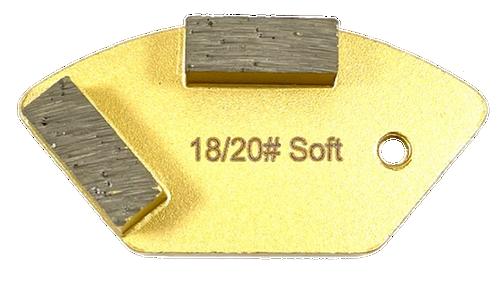 National compatible 2 bar diamond- gold