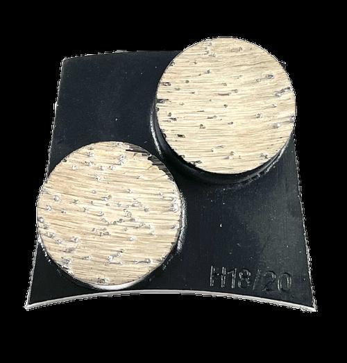 Fast change compatible 2 button- black