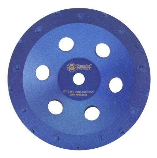 "7"" 18 segment Chip PCD Cup Wheel"