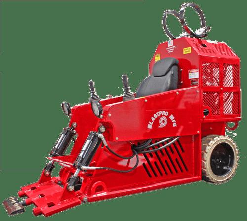 BRB-2800 scraper without propane tank