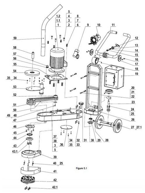 Driven Bearing L7-X