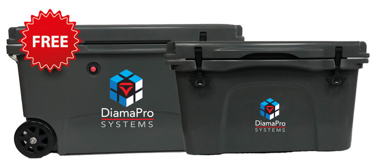 Free DiamaPro Coolers