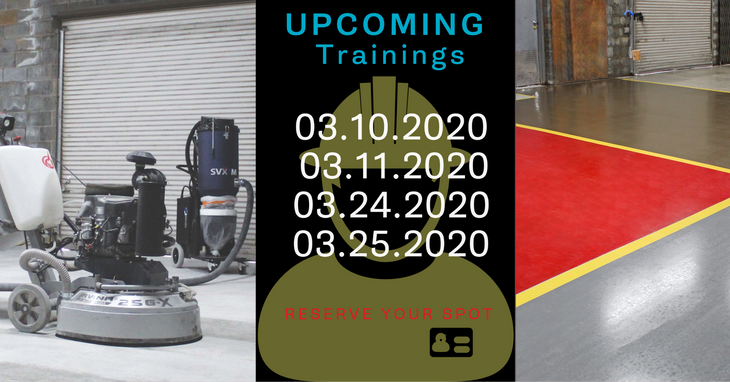 March 2020 Trainings