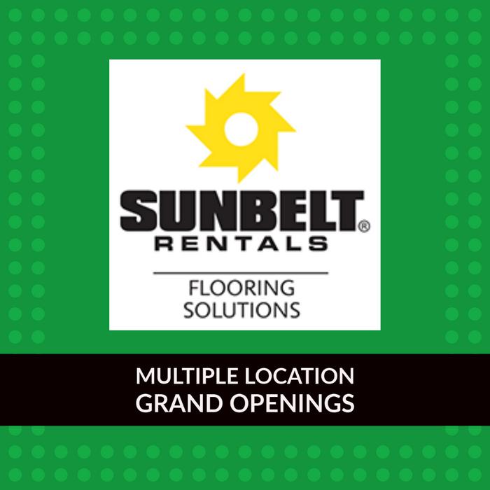 Sunbelt Flooring Solutions Grand Openings