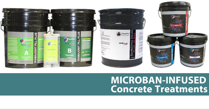Microban® Infused Concrete Treatment Products