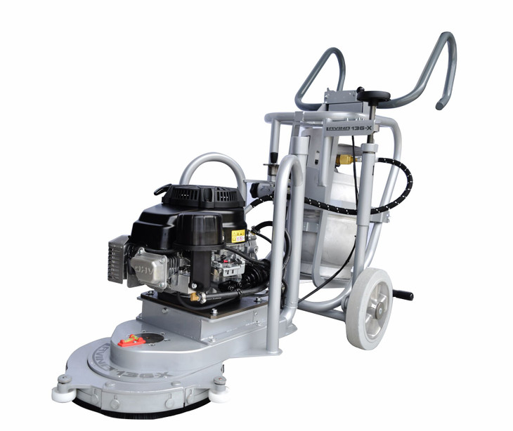 Check Out the New L13G-X Propane Edger
