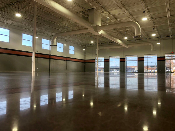 Polished Concrete for the Industrial Setting